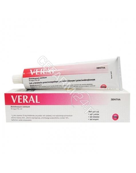 ZENTIVA Veral 1% żel 100 g