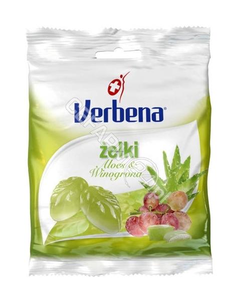 I.D.C. HOLDI Verbena żelki aloes i winogrona 60 g