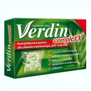 US PHARMACIA SP. Z O.O. Verdin Complexx 10 tabletek