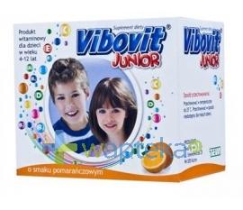 TEVA KUTNO S.A. Vibovit Junior pomaranczowy 15 saszetek