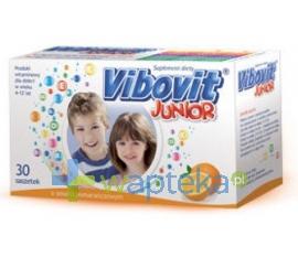 TEVA KUTNO S.A. Vibovit Junior pomaranczowy 30 saszetek