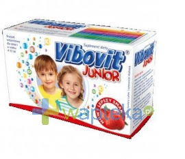TEVA KUTNO S.A. Vibovit Junior truskawka 30 saszetek