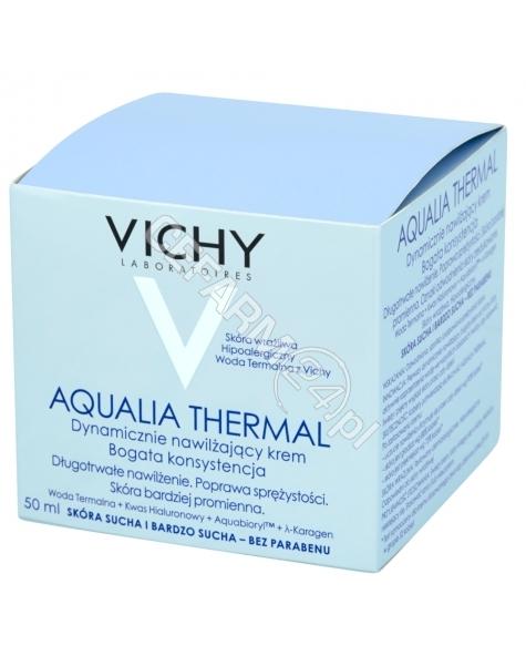 VICHY Vichy Aqualia Thermal Dynamiczne Nawilżanie - bogata konsystencja krem 50 ml