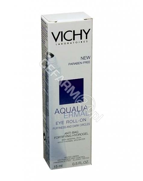 VICHY Vichy aqualia thermal yeux - kojący i wzmacniający hydrożel (roll-on) zmniejszający opuchnięcie oczu 15 ml