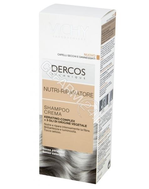 VICHY Vichy dercos - szampon odbudowujący strukturę włosów odżywczo - regenerujący 200 ml