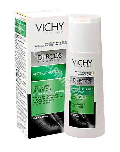 VICHY Vichy dercos - szampon zwalczający łupież suchy do włosów normalnych i suchych 200 ml