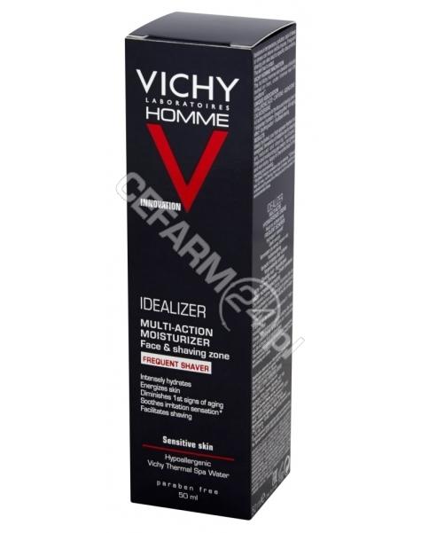 VICHY Vichy Homme Idealizer krem-żel nawilżający dla mężczyzn (częste golenie) 50 ml