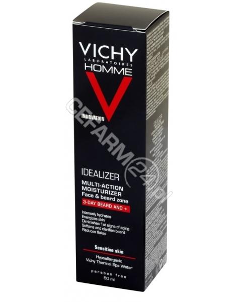 VICHY Vichy Homme Idealizer krem-żel nawilżający dla mężczyzn (zarost 3-dniowy i dłuższy) 50 ml