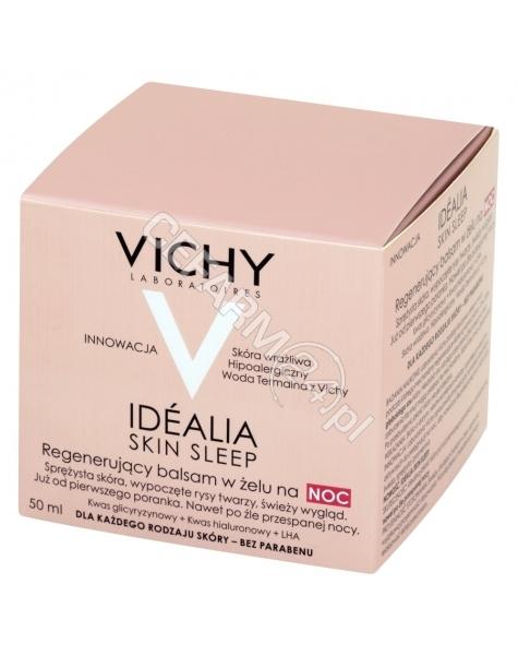VICHY Vichy idealia skin sleep krem na noc (balsam w żelu) 50 ml