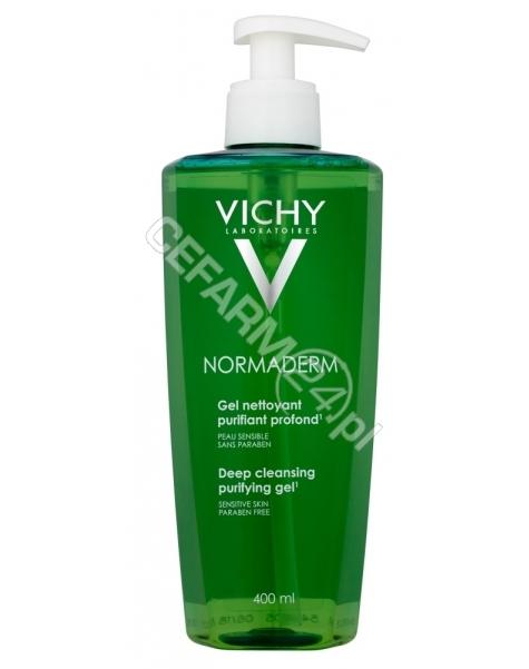 VICHY Vichy normaderm - żel głęboko oczyszczający 400 ml
