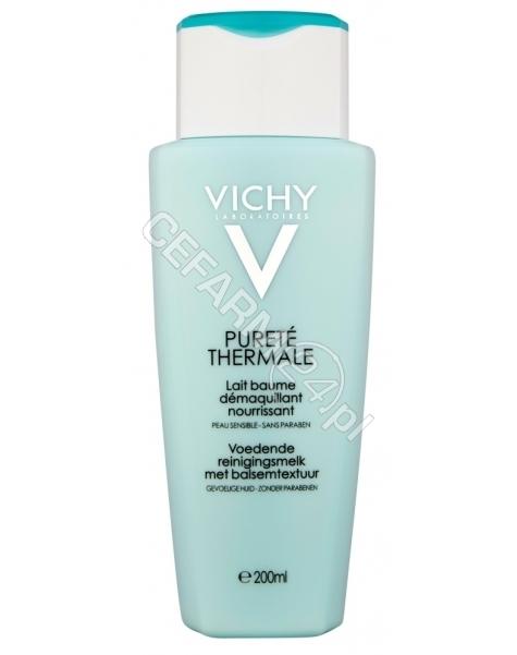 VICHY Vichy purete thermale odżywcze mleczko do demakijażu do skóry wrażliwej 200 ml