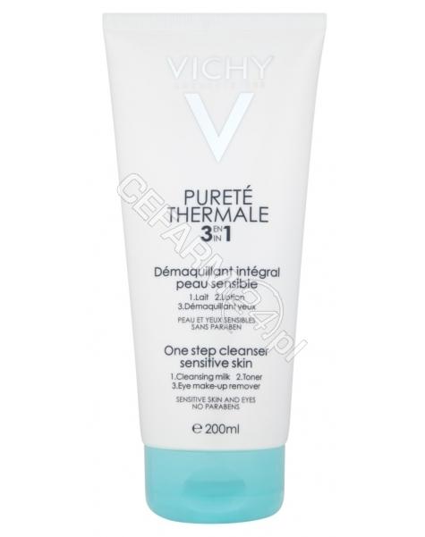 VICHY Vichy purete thermale - preparat do demakijażu twarzy i oczu 3 w 1 200 ml