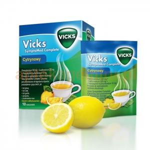 PLIVA Vicks SymptoMed Complete, cytryna, 5 saszetek