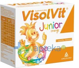 GLAXO WELLCOME S.A. Visolvit Junior smak pomarańczowy 10 saszetek