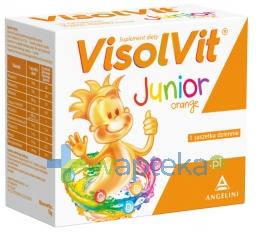 GLAXO WELLCOME S.A. Visolvit Junior smak pomarańczowy 30 saszetek - Krótka data ważności - do 31-01-2016