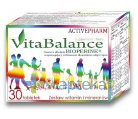 ACTIVEPHARM SPÓŁKA CYWILNA VITA BALANCE 30 tabletek