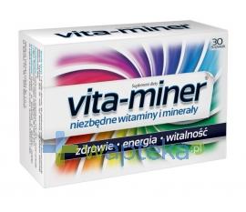 AFLOFARM FABRYKA LEKÓW SP.Z O.O. Vita-miner 30 tabletek