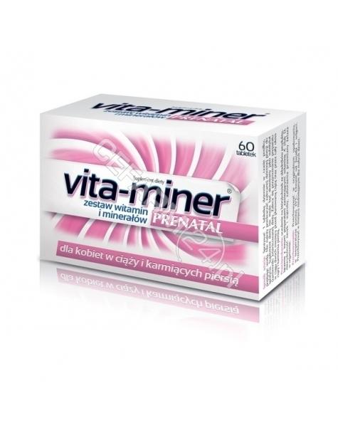 AFLOFARM Vita-miner prenatal x 60 tabl