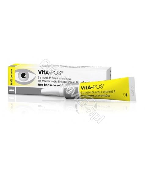 URSAPHARM Vita-pos maść oczna 5 g