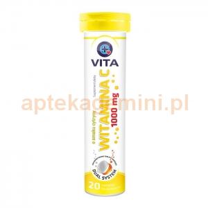 DR VITA Vita Witamina C 1000mg, 20 tabletek musujących