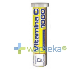 UNIPHAR SP Z O.O. Vitamina C 1000 mg 20 tabletek musujących UNIPHAR