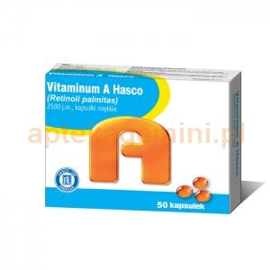 HASCO-LEK Vitaminum A Hasco 2500j.m., 50 kapsułek