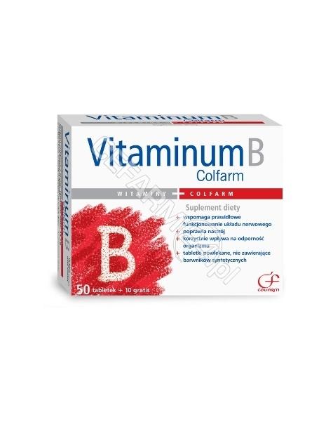 COLFARM Vitaminum B Colfarm x 50 tabl + 10 tabl