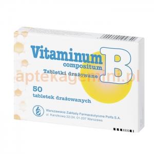 POLFA WARSZAWA Vitaminum B compositum, 50 tabletek