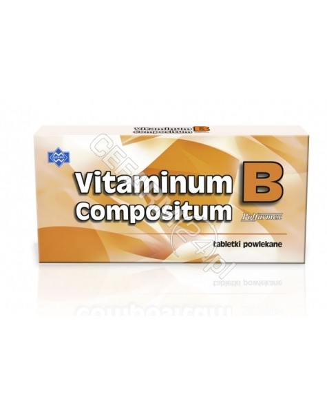 POLFARMEX Vitaminum B compositum x 50 tabl (Polfarmex)