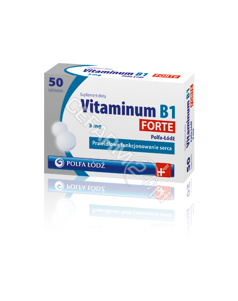 POLFA ŁÓDŹ Vitaminum B1 Forte 3 mg x 50 tabl (Polfa-Łódź)