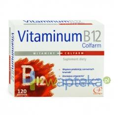 COLFARM Vitaminum B12, 120 tabletek COLFARM