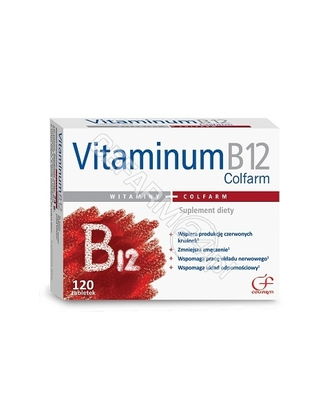 COLFARM Vitaminum B12 x 120 tabl (Colfarm)