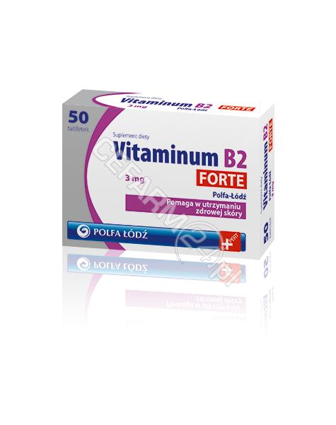 POLFA ŁÓDŹ Vitaminum B2 Forte 3 mg x 50 tabl (Polfa-Łódź)