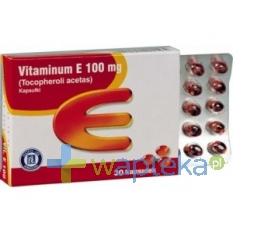 HASCO-LEK PPF Vitaminum E 100mg 30 kapsułek HASCO