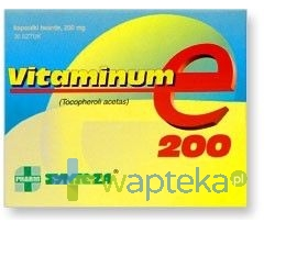 SYNTEZA SP. Z O.O. P.F.-CH. Vitaminum E 200mg 30 kapsułek 2234