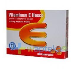 HASCO-LEK PPF Vitaminum E 300mg 30 kapsułek HASCO