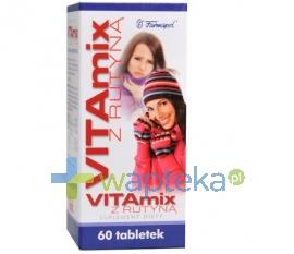 FARMAPOL Vitamix z rutyną, 60 tabletek
