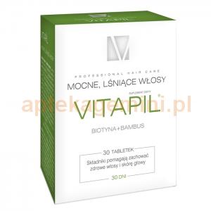 HOLBEX Vitapil z biotyną i bambusem, 30 tabletek