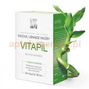 HOLBEX Vitapil z biotyną i bambusem, 60 tabletek