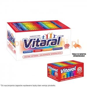 PRZEDSIĘBIORSTWO FARMACEUTYCZNE JELFA S.A. Vitaral 60 tabletek
