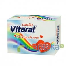 PRZEDSIĘBIORSTWO FARMACEUTYCZNE JELFA S.A. Vitaral cardio 60 + 30 tabletek
