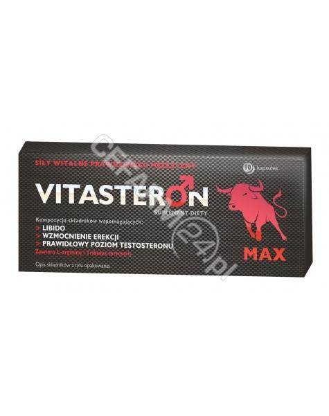 VALEANT Vitasteron max x 10 kaps