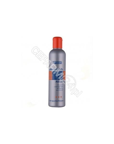 SCHMEES KOSM Vitawohl Sports olejek do masażu dla sportowców 250 ml
