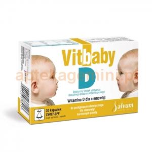 SALVUM Vitbaby D, 30 kapsułek twist-off