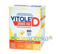 MEDANA PHARMA SPÓŁKA AKCYJNA Vitole D 2000 IU 60 kapsuek
