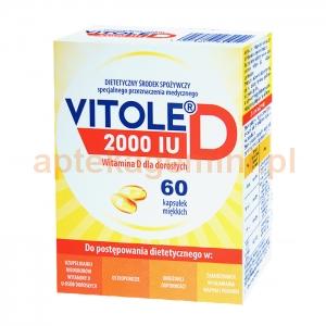 MEDANA Vitole D, 2000 IU, 60 kapsułek
