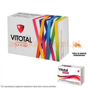 AFLOFARM FABRYKA LEKÓW SP.Z O.O. Vitotal dla kobiet 30 tabletek