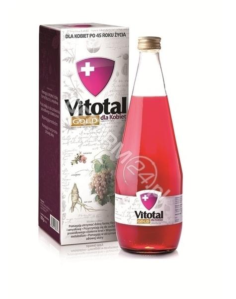 AFLOFARM Vitotal Gold dla kobiet syrop 750 g