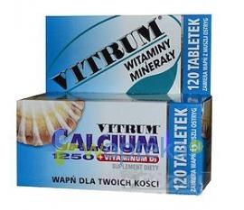 UNIPHARM SP. Z O.O. Vitrum Calcium 1250 120 tabletek