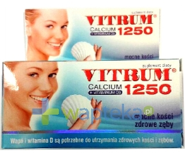 UNIPHARM SP. Z O.O. Vitrum Calcium 1250 60 tabletek